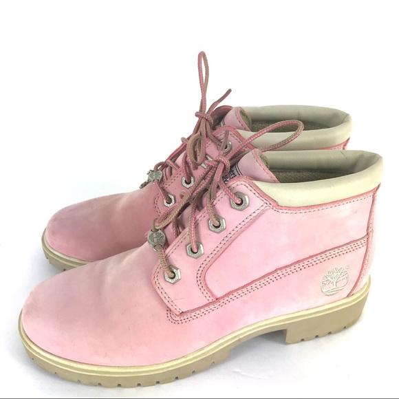 Nellie Pink Timberland Pink Boots Timberland Chukka roedCxB